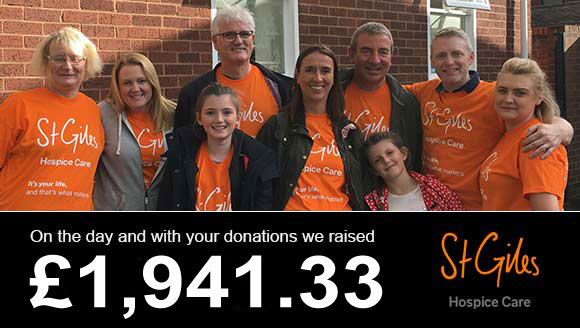 On the day and with your donations we raised £1,776.52